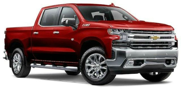 2020 Chevrolet Silverado 1500 LTZ Premium T1 MY21 4X4 CHERRY RED