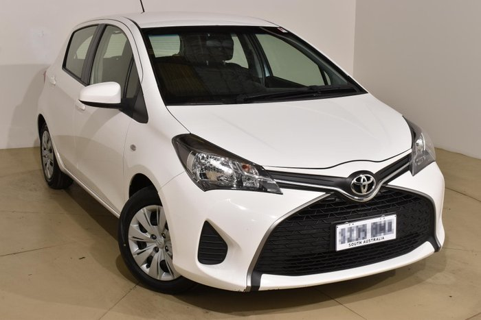 2015 Toyota Yaris Ascent NCP130R Glacier White