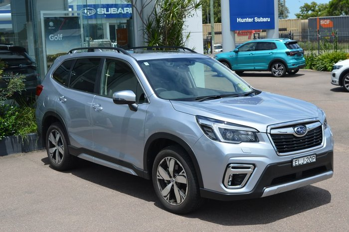 2020 Subaru Forester 2.5i-S S5 MY21 Four Wheel Drive Silver