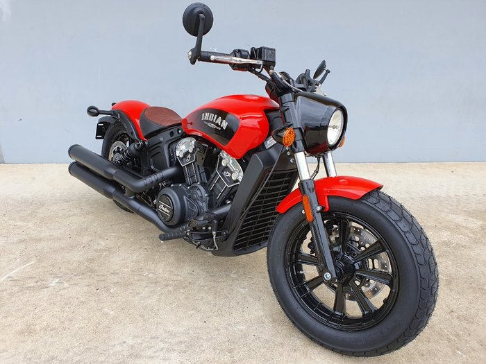 2021 Indian 2021 INDIAN 1100CC SCOUT BOBBER INDY RED CRUISER Red