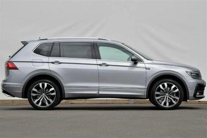 2020 Volkswagen Tiguan 140TDI Highline Allspace 5N MY20 Four Wheel Drive Silver