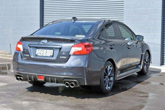 2018 Subaru WRX Premium V1 MY18 Four Wheel Drive Dark Grey