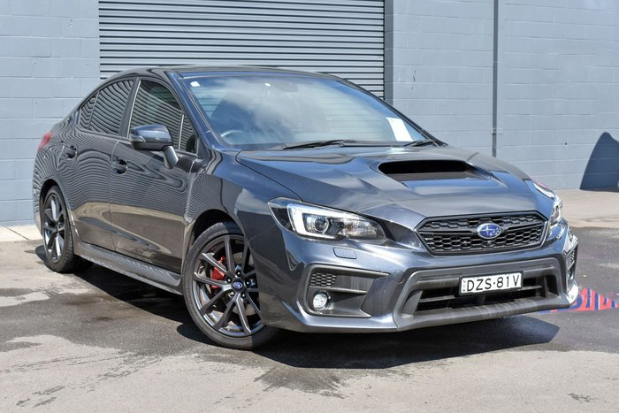 2018 Subaru WRX Premium V1 MY18 AWD Dark Grey