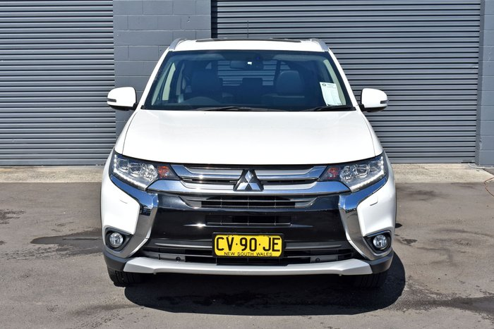 2015 Mitsubishi Outlander LS ZJ MY14.5 4X4 On Demand White
