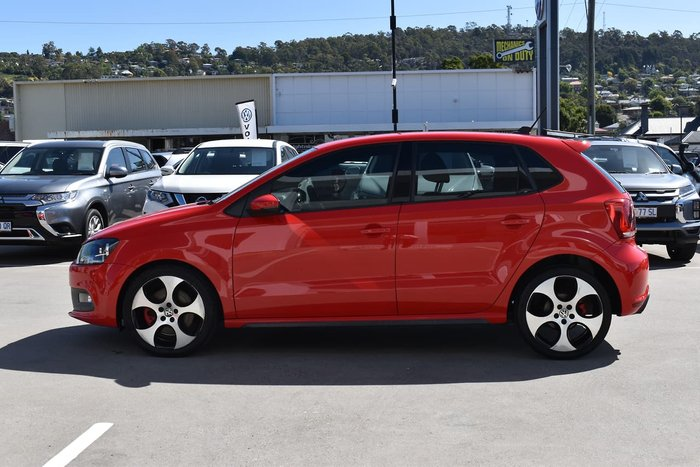 2014 Volkswagen Polo GTI 6R MY14 Red