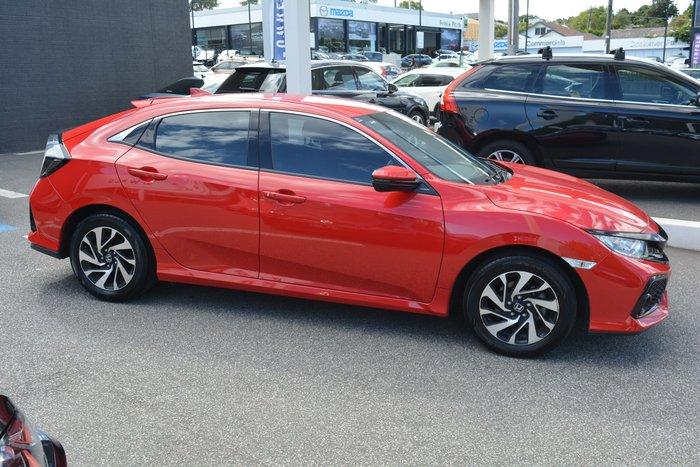 2018 Honda Civic VTi-S 10th Gen MY18 Rally Red