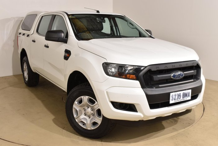 2016 Ford Ranger XL Hi-Rider PX MkII Cool White