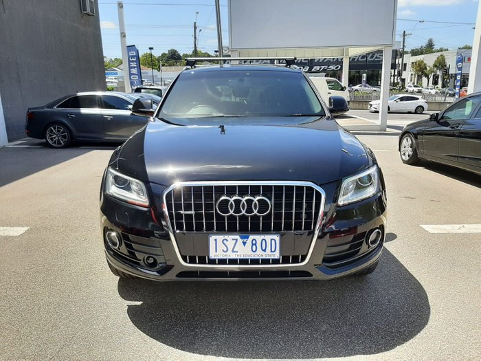 2016 Audi Q5 TDI Sport Edition 8R MY17 Four Wheel Drive Mythos Black