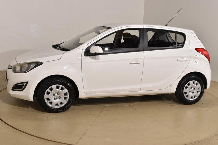 2013 Hyundai i20 Active PB MY14 White