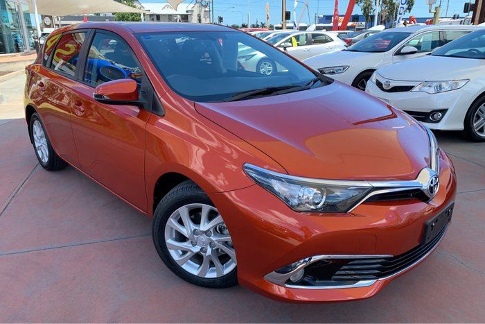 2017 Toyota Corolla Ascent Sport ZRE182R Orange