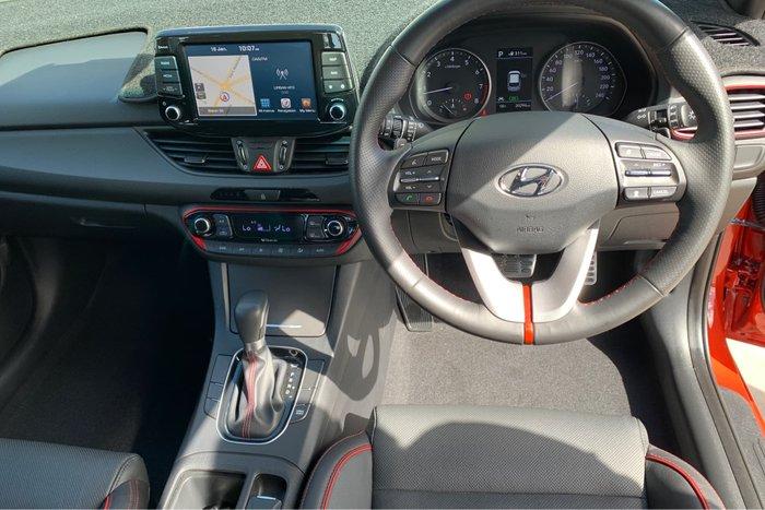 2017 Hyundai i30 SR GD5 Series II MY17 Orange