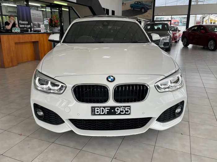 2018 BMW 1 Series 120i M Sport F20 LCI-2 Alpine White