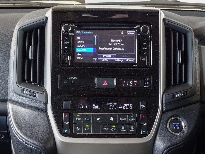 2020 Toyota Landcruiser GXL VDJ200R 4X4 Dual Range White