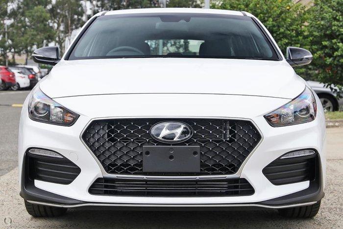 2020 Hyundai i30 N Line PD.V4 MY21 Polar White