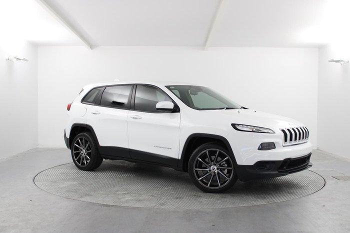 2015 Jeep Cherokee Sport KL MY15 White