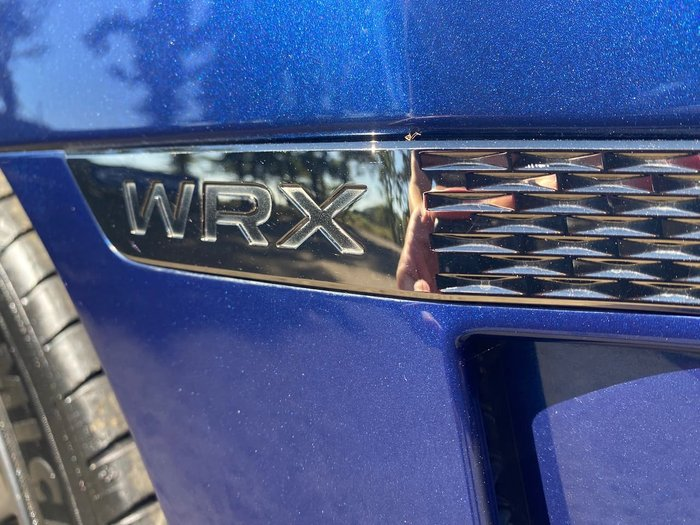 2014 Subaru WRX V1 MY15 Four Wheel Drive Blue
