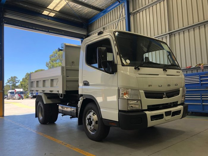 2020 FUSO CANTER 815 FACTORY TIPPER SAFETY PACK AMT White