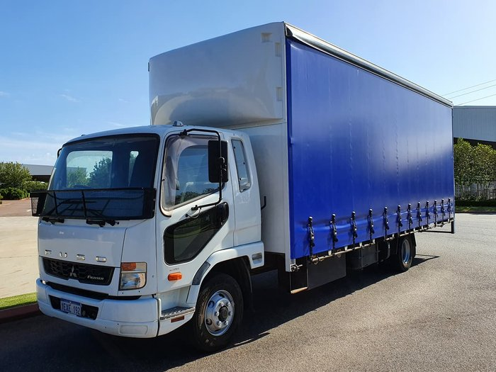2015 FUSO 1024 FIGHTER WHITE
