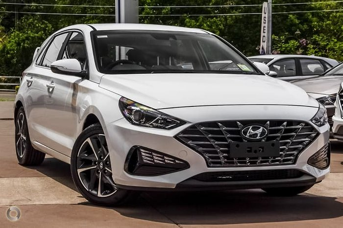2020 Hyundai i30 Elite PD.V4 MY21 Polar White