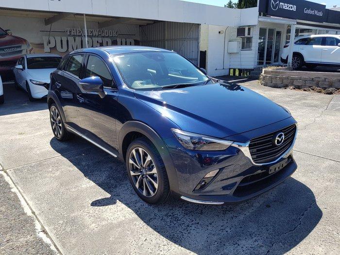 2020 Mazda CX-3 sTouring DK Deep Crystal Blue
