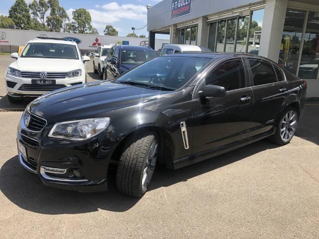 2014 Holden Commodore SS V VF MY15 PHANTOM BLACK