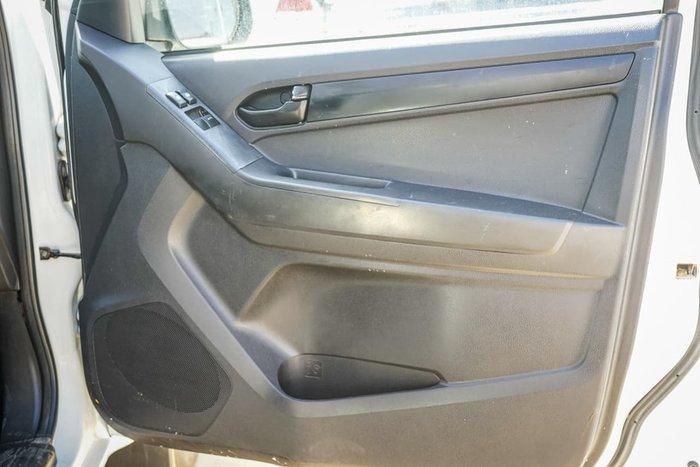 2012 Isuzu D-MAX SX MY12 4X4 Dual Range White