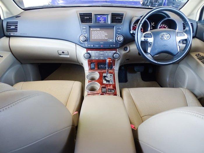 2011 Toyota Kluger Grande GSU45R MY11 Four Wheel Drive Silver