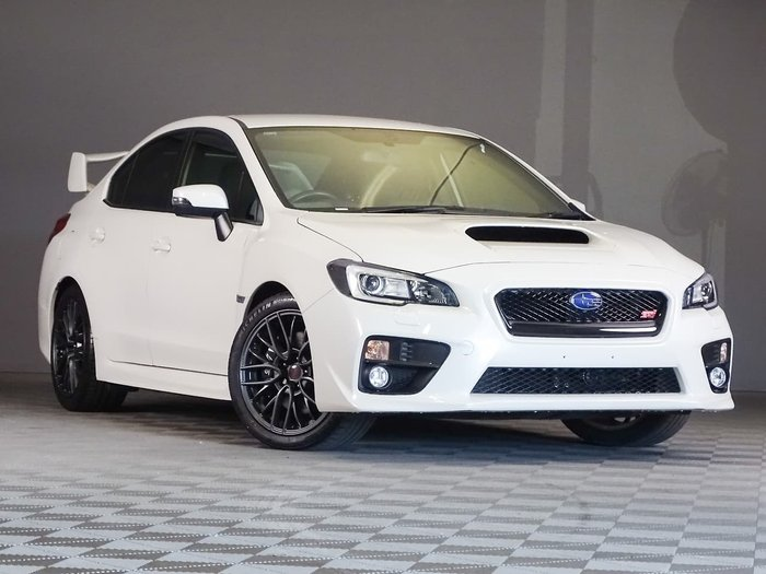 2016 Subaru WRX STI V1 MY17 Four Wheel Drive White