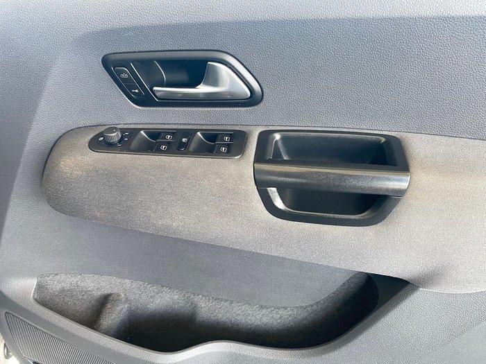 2013 Volkswagen Amarok TDI420 Highline 2H MY13 4X4 Constant Silver