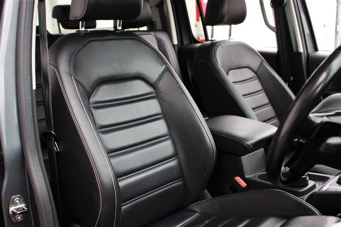 2017 Volkswagen Amarok TDI550 Ultimate 2H MY17 4X4 Constant Grey