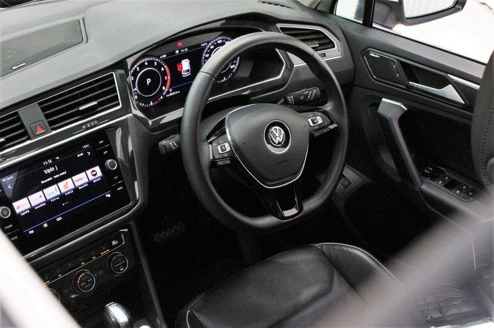 2019 Volkswagen Tiguan 132TSI Comfortline 5N MY19.5 Four Wheel Drive White