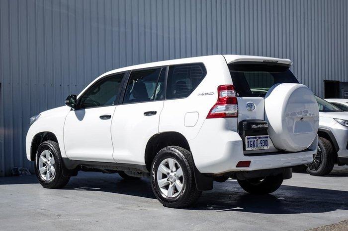 2017 Toyota Landcruiser Prado GX GDJ150R 4X4 Dual Range White
