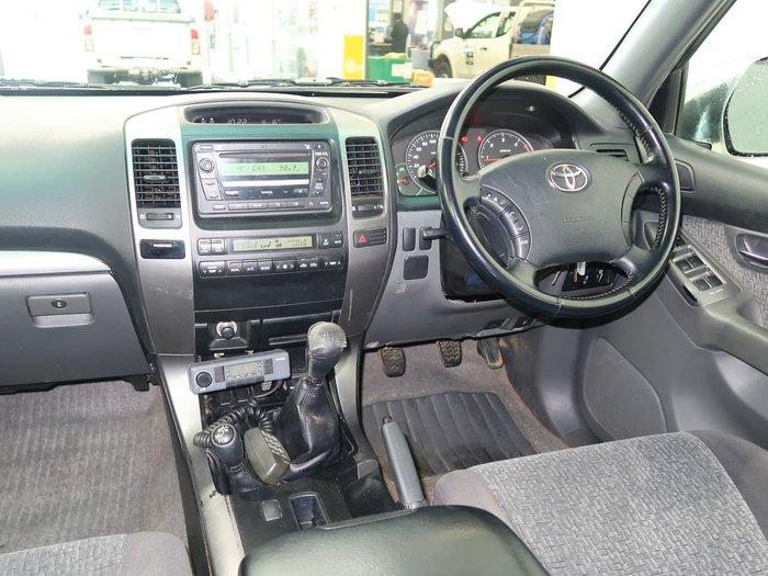 2009 Toyota Landcruiser Prado GXL KDJ120R 4X4 Constant White