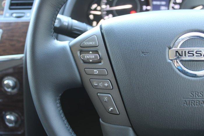 2019 Nissan Patrol Ti Y62 Series 4 4X4 Dual Range White