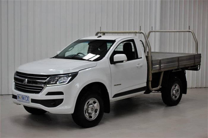 2017 Holden Colorado LS RG MY18 White