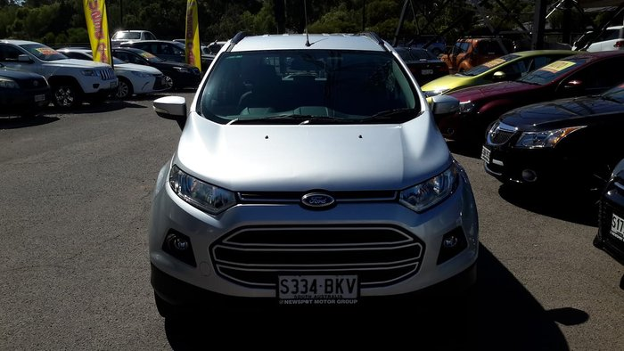 2015 Ford EcoSport Trend BK Silver