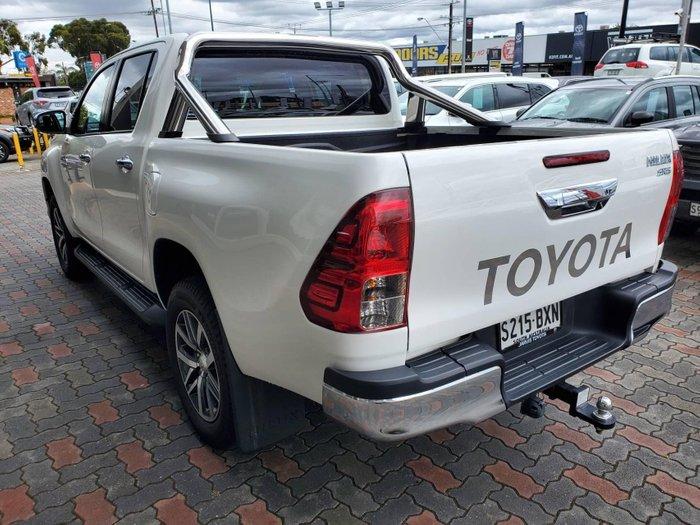 2018 Toyota Hilux SR5 GUN126R 4X4 Dual Range Glacier White