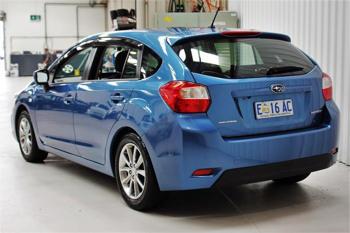 2014 Subaru Impreza 2.0i G4 MY14 Four Wheel Drive Blue
