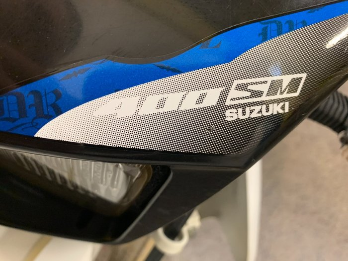 2014 Suzuki DR-Z400 SM White