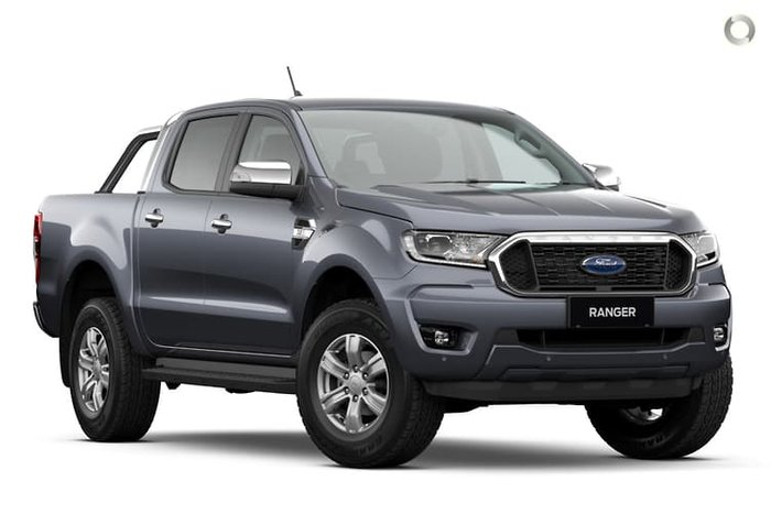 2020 Ford Ranger XLT PX MkIII MY21.25 4X4 Dual Range Meteor Grey