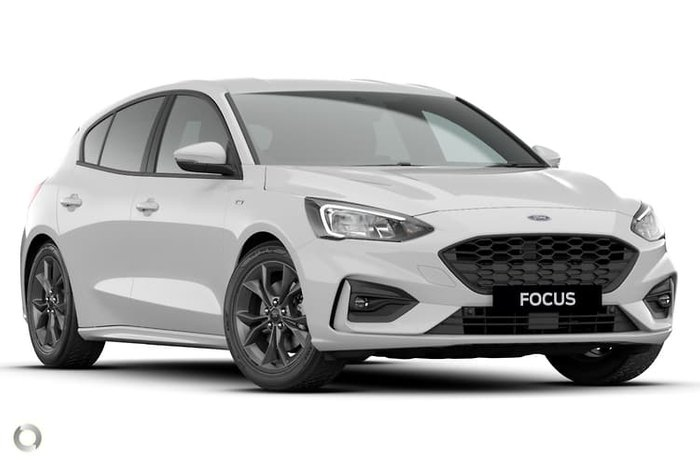 2020 Ford Focus ST-Line SA MY21 Frozen White