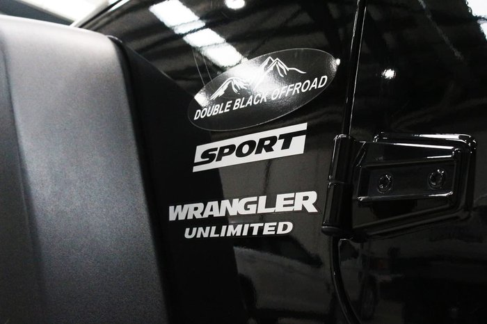 2014 Jeep Wrangler Unlimited Sport JK MY15 4X4 Dual Range Black
