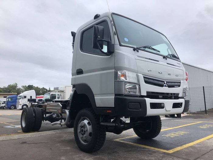 2020 FUSO 4X4 FG WIDE CAB MWB CANTER IN STOCK White