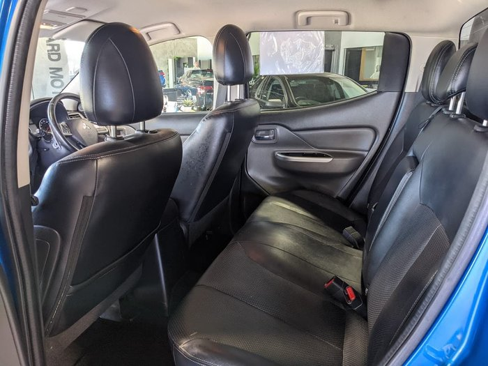 2016 Mitsubishi Triton Exceed MQ MY16 4X4 Dual Range Impulse Blue