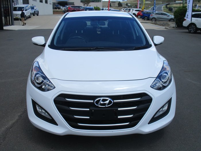 2015 Hyundai i30 Active X GD3 Series II MY16 Polar White