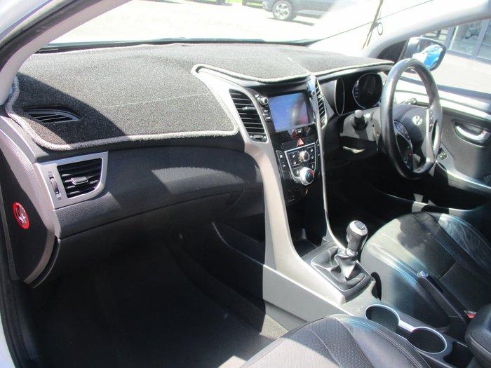 2015 Hyundai i30 Active X GD3 Series II MY16 Polar White