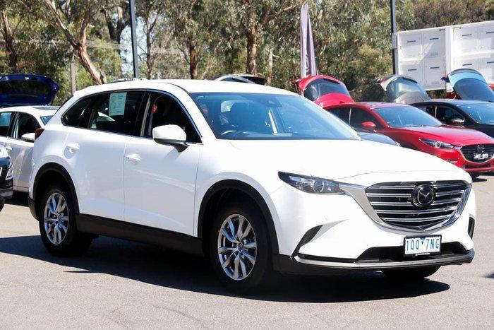 2019 Mazda CX-9 Touring TC Snowflake White Pearl
