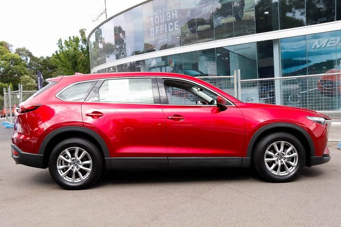 2019 Mazda CX-9 Touring TC 4X4 On Demand Soul Red Crystal