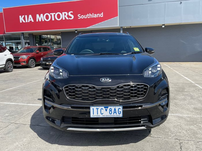 2020 Kia Sportage GT-Line QL MY21 4X4 On Demand Black