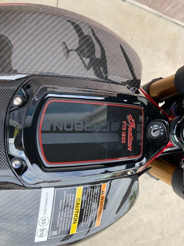 2020 Indian FTR 1200 CARBON Grey